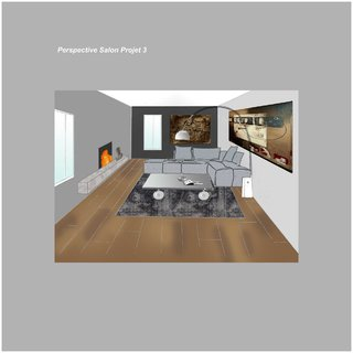 Perspective Salon Projet 3