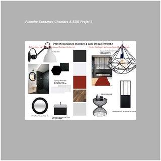 Planche Tendance Chambre et SDB Projet 3
