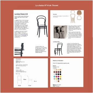 Chaise n°14 de Thonet