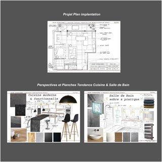 Plan et Planches Tendances Cuisine et salle de Bain