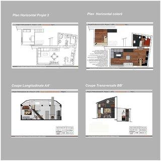 Plans et Coupes Projet 3
