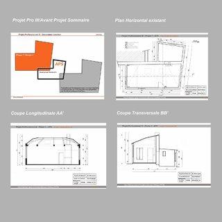 Plans et coupes Appt Phase APS