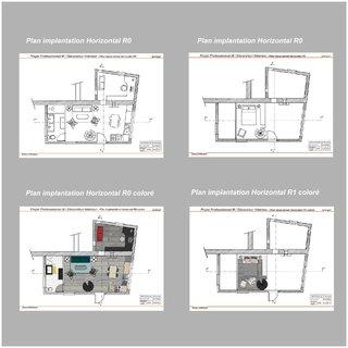 Plans implantations Horizontaux R0 et R1