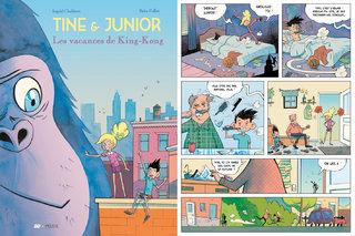 Tine et Junior - Tome 1 : Les vacances de King Kong - Ed. Frimousse