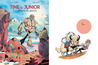 Tine et Junior 2 - Les Géants de Pierre - Ed. Frimousse