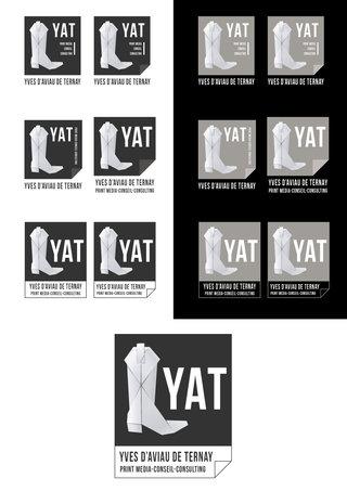 Création logo - YAT, Agence print