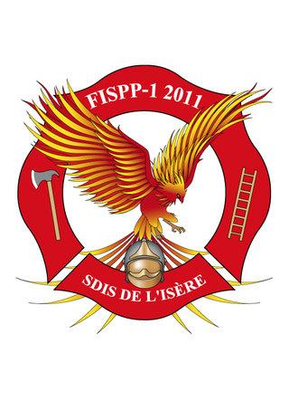 Création logo - Promotion 2011  des pompiers du SDIS de l'Isère