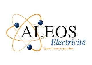 Création logo - Aleos Electricité