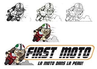 Création logo - First Moto