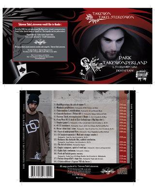 Jaquette CD - Takewon TakeL.stereowon (!!!), producteur et compositeur de musique hip-hop et trip-hop.