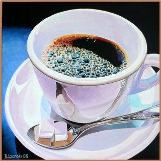 Café avec deux sucres