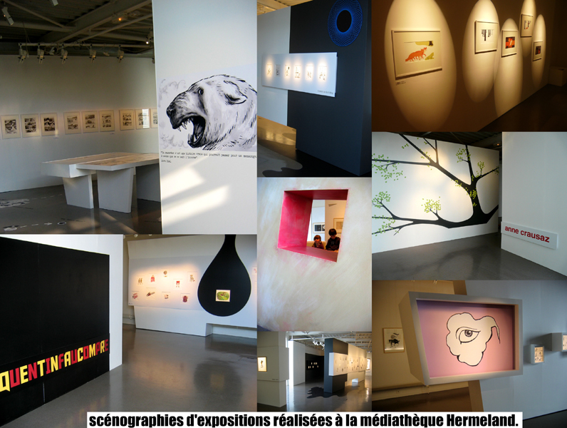 Scénographies d'expositions : Ultra-book