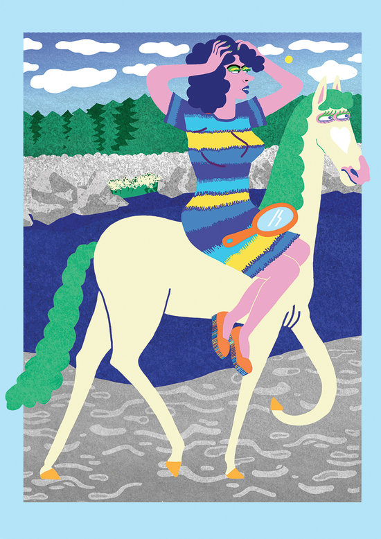 Cavaliere n°1 bis - TOTEM # 1 - Generation posters - Galerie LAZER QUEST