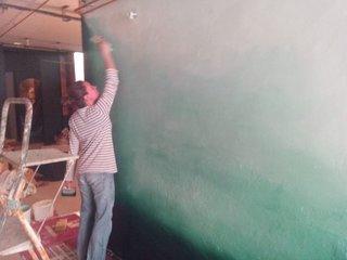réalisation d'un mur ombré