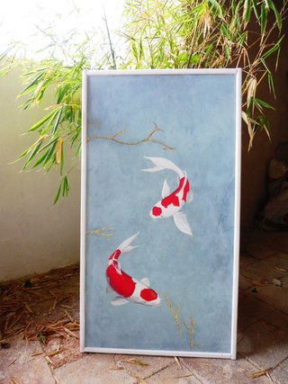 Fresque Kori japonais