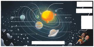 Estelle et Noé à la découverte de l'Univers p12