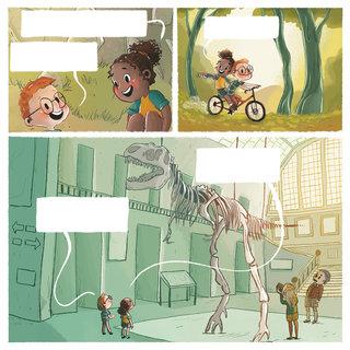 Estelle et Noé à la découverte des dinosaures p5