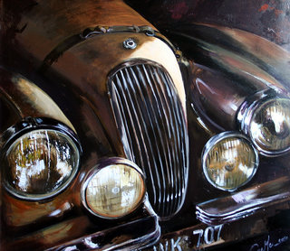 Détail Jaguar K