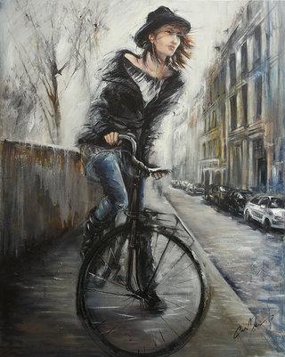 La fille à vélo