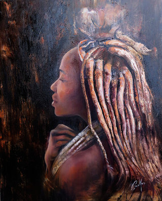 Jeune fille Himba