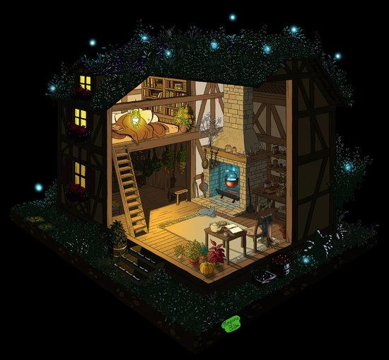 La maison de la sorcière