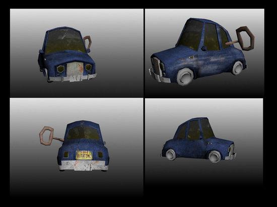 vues voiture 3D - 3D car views