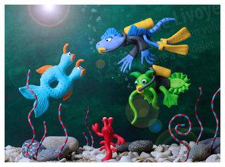 > Exploration sous marine