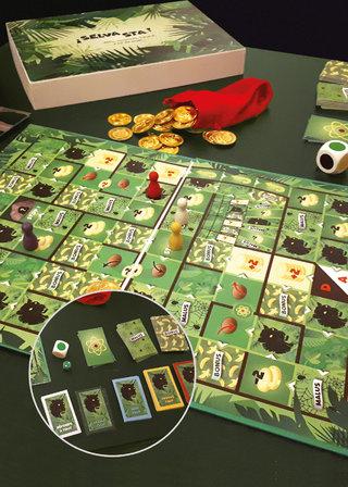 Selvasta - Maquette de jeu  de société
