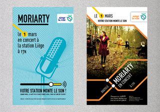 RATP Affiches Concert (projets - en collaboration avec L. Maigret))