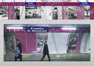 RATP - Habillage station en travaux
