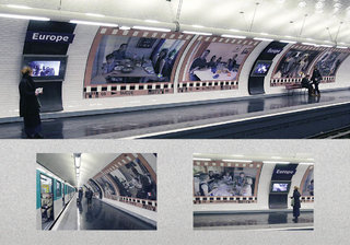 RATP Station Europe