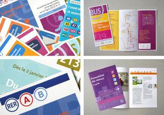 RATP - 400 dépliants, 400 affiches d'Information voyageurs