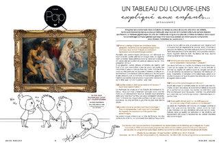 peintures Louvre Lens expliquées aux enfants