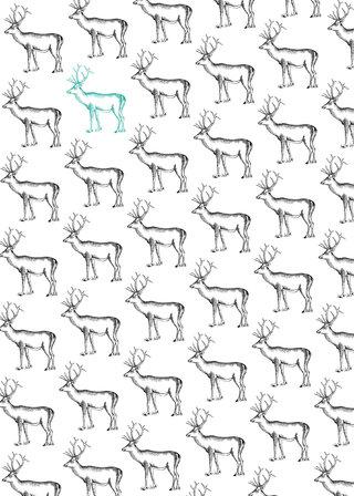 Pattern cerfs
