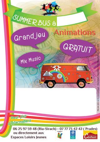 """Affiche type """"Summer Bus"""""""
