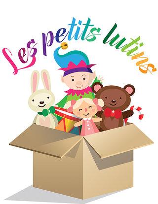 "Logo crèche ""Les petits lutins"""