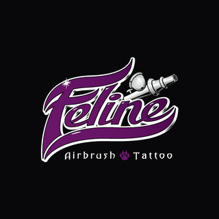 Féline Airbrush Tattoo