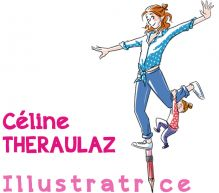 Celine-theraulaz Portfolio : ILLUSTRATION - PAPIER DECOUPE