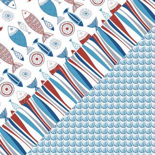 thème marin sur papier Excellia Clairefontaine