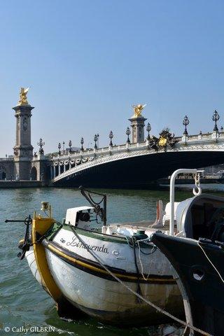 Quaie de Seine Alexandre 3 Paris