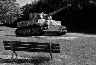 Char tigre allemand de la seconde guerre mondiale Vimoutier