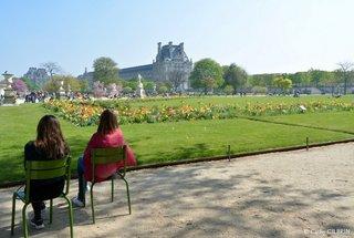 """Moment """"Repos"""" dans le Jardin des Tuileries Paris"""
