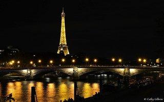 La tour effeil et la Seine
