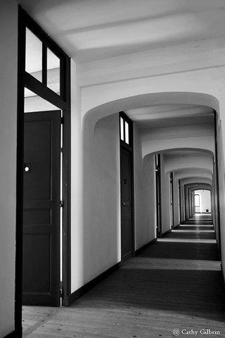 Couloir de l'abbaye St Nicolas Verneuil sur avre