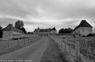 Château dans le Perche - Normandie