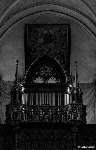 orgue de l'église de Lisieux