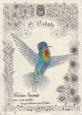Les 4 saisons des colibris - L'Estate