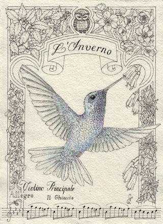Les 4 Saisons des colibris : L'Inverno