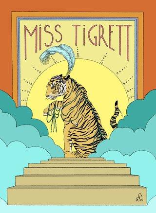 Miss Tigrett en couleur