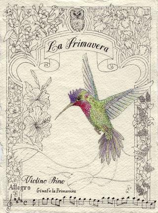 Les 4 Saisons des colibris : La Primavera